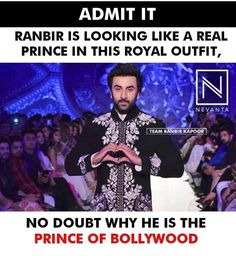 Rishi Kapoor, Royal Clothing, King Of My Heart, Cute Actors, Real Hero, Ranbir Kapoor, Prince Charming, Bollywood, Bunny