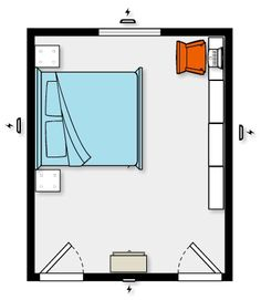 Feng Shui Kids Bedroom Layout feng shui master bedroom layout. a better placement for the bed is