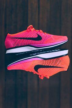 #Nike #Flyknit #Racer