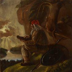 Ekman, Anders  Väinämöinen  n. 1852
