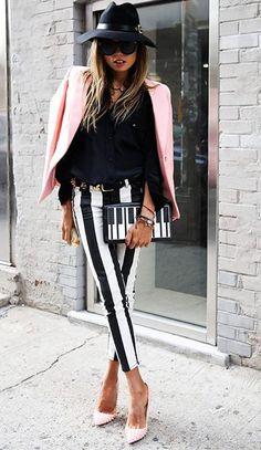 Pink Is Trending. Street Style Spring Summer2014