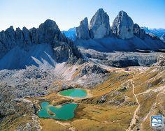 DOLOMITI Tre Cime di Lavaredo, Veneto, Italy