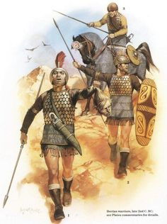 - Guerreros Iberos . Siglo ll a.C. /tcc/