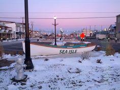 Sea Isle City - Winter Wonderland ! Can't wait for Polar Bear Plunge