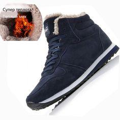 New Couple Unisex Super Warm Man Boot Fashion Men Winter Snow Boots Keep Warm  Boots Plush Ankle Work Shoes Men Snow Boots 36 48-in Snow Boots from Shoes  on ... 45760014c301