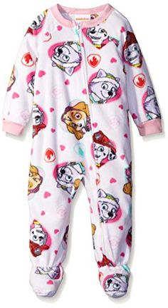 830872a3bb Nickelodeon Baby Paw Patrol Rescue Hearts Footed Blanket Sleeper Assorted  24 Months     Continue