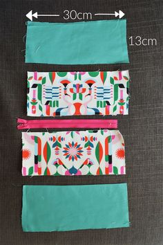 D.I.Y tutorial : Make your own cosmetic bag | Hannah In The House