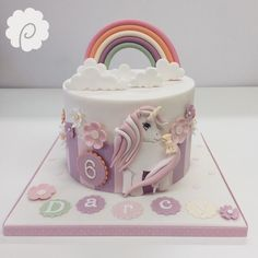 ... cakes cake decorations cake art cake design ponies birthday cakes