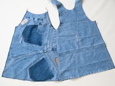 Jeans into toddler dress