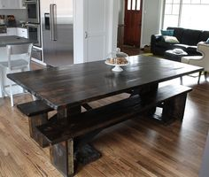 Our New Farm Dining Table