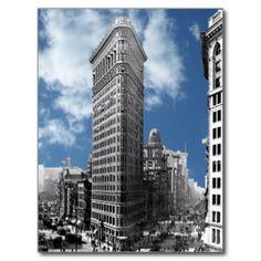 Flatiron Building Postcards | Zazzle