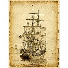 Sailing Ship Poster Print Art Picture Vintage Style Nauti... https://www.amazon.com/dp/B06XWG5L2C/ref=cm_sw_r_pi_dp_x_HWhozbK4VJM88