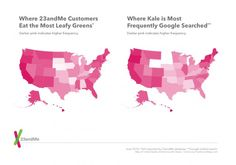 """23andMe Correlates Traits Across the United States: People who exercise more search for """"chest pain"""" less."""