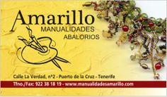 Somos una tienda con taller en Puerto de la Cruz Tenerife. Hacemos nuestros propios diseños en bisuteria y todo tipo de manualidades