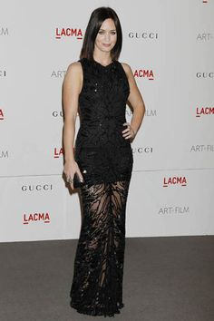 Emily Blunt and John Krasinski at LACMA Gala