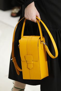 Salvatore Ferragamo Spring 2016 Ready-to-Wear - Vertical Cross Body Bag