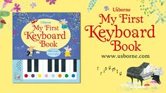 Usborne 'My First Keyboard Book' - see how it works Twelve Days Of Christmas, Christmas Holidays, Activities For Kids, Crafts For Kids, Book Trailers, Boredom Busters, Book Publishing, Book Worms, Keyboard