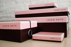 """We developed this brand of handbags, shoes and small goods, designing the visual identity, packaging, ad campaigns and collateral. Jackie Smith can be defined as classical, feminine and romantic, luxurious but within an affordable price range, obsessively caring for details, timeless, with an international spirit and a strong concept of collection. The packaging reveals in different dimensions the experience on Jackie's world propounding surprise, fantasy and details."""