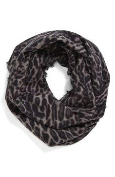 Leopard print infinity scarf  http://rstyle.me/n/d6fsfnyg6