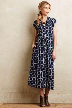 Indira Shirtdress -Modest printed midi dress with sleeves | Shop Mode-sty #nolayering