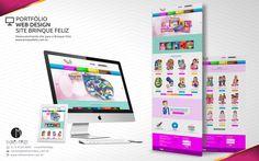 PORTFÓLIO WEB DESIGN SITE BRINQUE FELIZ Desenvolvimento site para a Brinque Feliz www.brinquefeliz.com.br