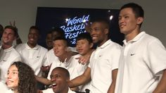 WORLD    BASKETBALL   FESTIVAL   AND    KYRIE    INVING