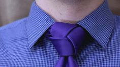 The trinity knot is an elegant way to improve a necktie's impact. https://youtu.be/09E5UTSE_-8