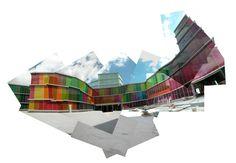 Edificio del MUSAC, diseñado por Emilio Tuñón (Madrid, 1958) y Luis Moreno Mansilla (Madrid, 1959 - Barcelona, 2012) - See more at: http://musac.es/#museo/edificio/ - Foto copyright: Tuñon y Mansilla.