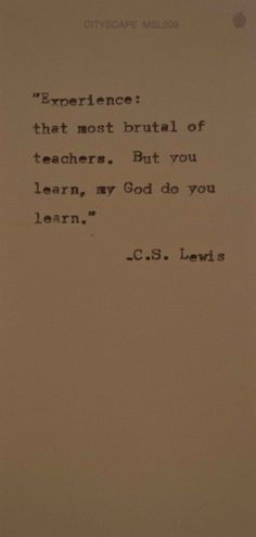 C.S. Lewis education-i-believe-in