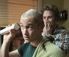 """And shaved his head for the movie """"50/50.""""   Why Joseph Gordon-Levitt Has Had An AwesomeCareer"""