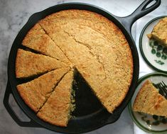 I hate to admit it, but Ioften use thequick Trader Joe's cornbread mix when we want cornbread as a side. It is sweet and cake-like and yummy. But… My South Carolina-raised husband and…