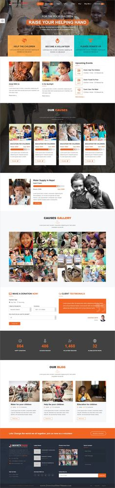 Bountypress is clean and modern design responsive #HTML template for #charity, #crowdfunding and nonprofit organizations website download now > https://themeforest.net/item/bountypress-nonprofit-crowdfunding-charity-html5-template/19879685?ref=Datasata