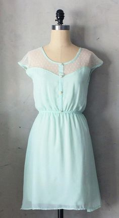 Mint Dress If only it was shorter~  It would be perfect