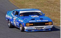 Dick Johnson Australian Muscle Cars, Aussie Muscle Cars, Australian V8 Supercars, American Muscle Cars, Road Race Car, Race Cars, Road Racing, Ford News, Ford Falcon