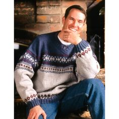 Fair Isle V-Neck- ageless classic design. Free pattern.