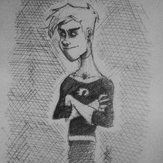 - Lo reconocen?  - #dannyphantom  #art #drawing #illustration