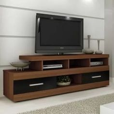 DIY TV stand ideas for your weekend project! Build your own entertainment center on your home using your unused cabinets, old wooden crates, or metal pipe! Furniture, Interior, Home, Tv Unit Furniture, Cupboard Design, Interior Design, Living Room Tv Unit Designs, Furniture Design, Living Room Tv