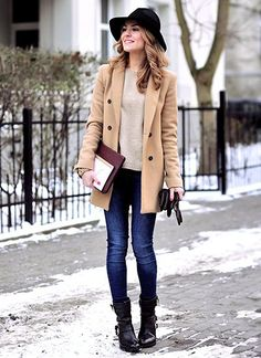 Camel coat #winter