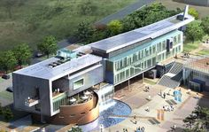 Design Cultural Welfare Centre building / Design Winners