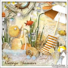 Le Blog de kittyscrap: VINTAGE SUMMER