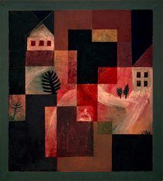 Paul Klee, Choral und Landschaft, 1921 on ArtStack #paul-klee #art