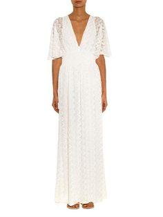 2b568b309b0 Melissa Odabash Tania crochet maxi dress Online Shopping, Hvid Kjole