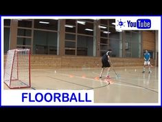 Floorball Shooting Spinner Forehand - YouTube Coaching, Basketball Court, Train, Sports, Youtube, Training, Hs Sports, Sport, Strollers