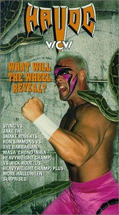 WCW Halloween Havoc 92 [VHS] @ niftywarehouse.com #NiftyWarehouse #Halloween #Scary #Fun #Ideas