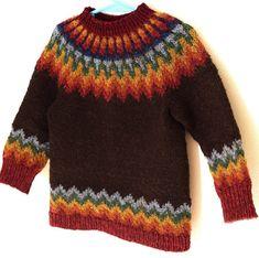 YARN: The Fibre Company Acadia baby alpaca, merino wool, silk; 145 skein): moraine (MC), 1 skeins, blue heron summersweet kelp driftwood and egret 1 skein each. Hand Crochet, Crochet Baby, Knit Crochet, Fair Isle Knitting Patterns, Crochet Patterns For Beginners, Punto Fair Isle, Stretchy Bind Off, My Son Birthday, Rainbow Birthday