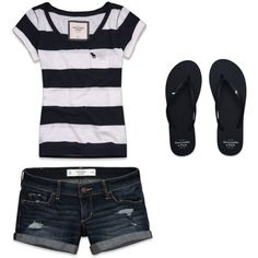 Summer outfit. Perfect for summer lazy days!