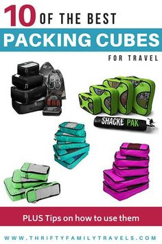 The best packing cubes for backpacking ftb asia travel tips Best Packing Cubes, Packing Tips For Travel, Travel Essentials, Travel Ideas, Travel Hacks, Packing Hacks, Suitcase Packing, Vacation Packing, Travel Advice