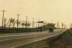 This section of the Bankhead Highway passed by Arlington Downs in Arlington, Texas.  Banked Highway crossed the United States from Washington D.C. to San Diego, California.  This first transcontinental highway include approximately 850 miles that crossed Texas.