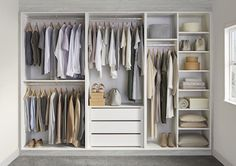We offer a a free home design service to ensure we can build the perfect bedroom storage solution for each individual customer Wall Wardrobe Design, Bedroom Built In Wardrobe, Wardrobe Interior Design, Wardrobe Door Designs, Wardrobe Room, Bedroom Closet Design, Small Wardrobe, Wardrobe Storage, Closet Designs