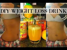 DIY FLAT BELLY WEIGHT LOSS DRINK | LOSE BELLY FAT & WEIGHT IN 1 WEEK | NO EXERCISE, ALL NATURAL - YouTube